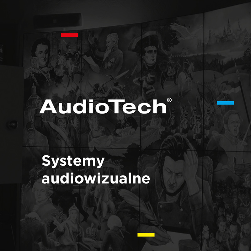 AudioTech - projekt graficzny Key Visuala